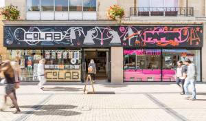 CoLab in Bristol. It's right in the center of Bristol and if you've walked through the town centre you'll have walked past it, but no one I spoke to in the last few days seems to know it.