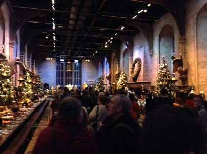 The tour begins with the Great Hall and set/costume design.