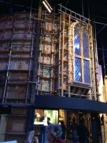 Dumbledore's office exterior.