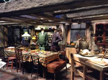 The Burrow interior