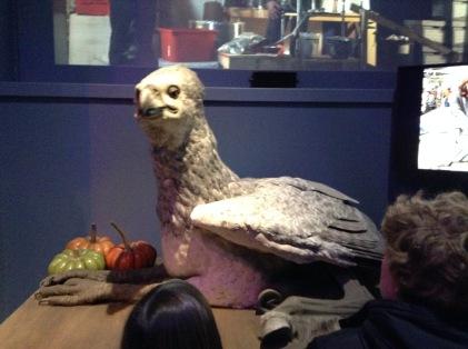 They built a lifesize animatronic Buckbeak