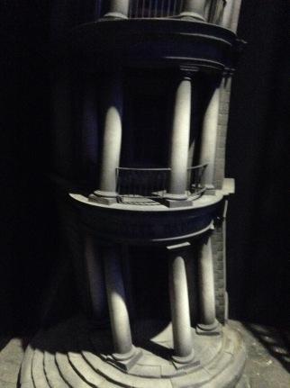 Gringotts scale model