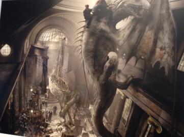 Dragon Escapes Through Gringotts Bank - Andrew Williamson