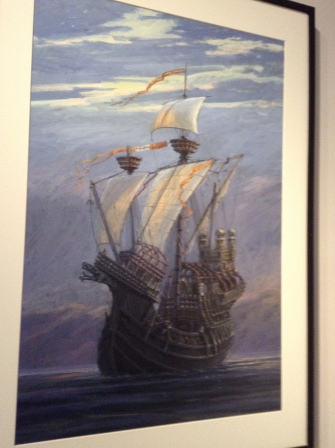 The Durmstrang Ship - Geoffrey Huband