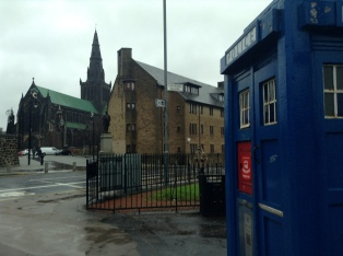 Police boxes everywhere...