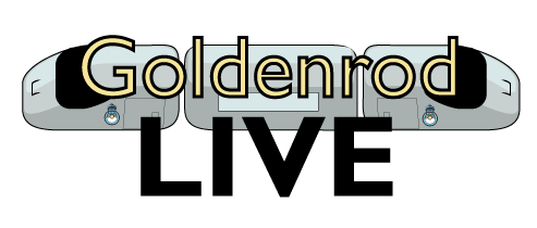 Goldenrod-LIVE-Script-Train-LogoMAIN-LOGO-ON-TRAIN